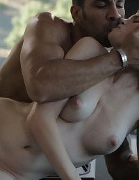 Early in the morning Lara lets her man feast on her creamy pussy and then repays the favor by sucking off his hard cock