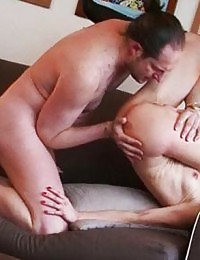 Hottie toys with herself and a couple fuck