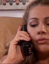 This Cute Bitch Is Sure To Make His Dream Come True Today.