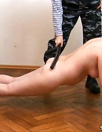 Hot mature sergeant trains and fucks a lesbian fatty
