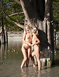 You Will Make Your Mouth Water While Witnessing Amazing Lesbian Girls Funs On The Nature.