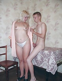Mature woman seducing a horny, pussy-eager teen.