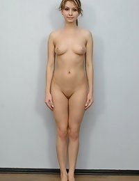 Her nudity as the main condition of hiring
